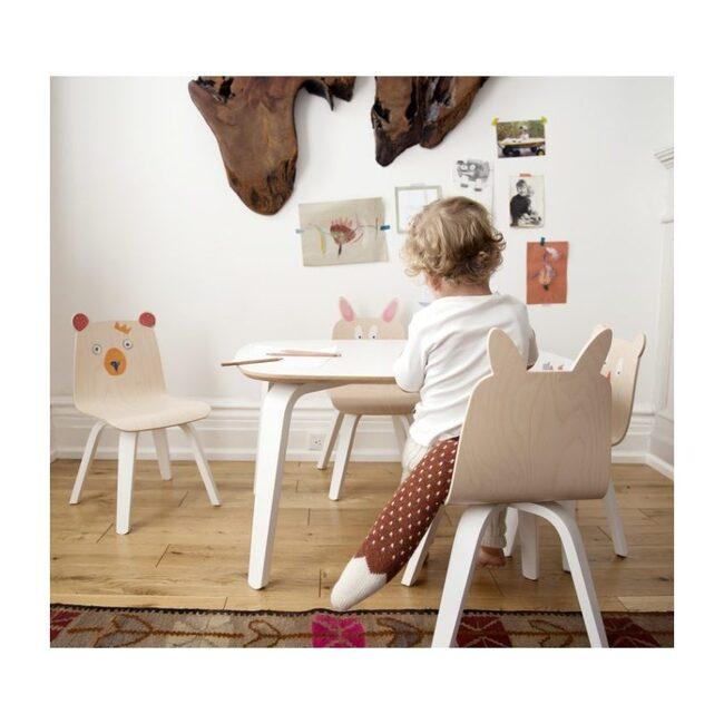 Set of 2 Rabbit Play Chairs, Birch