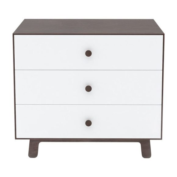 Sparrow Three Drawer Dresser, Walnut