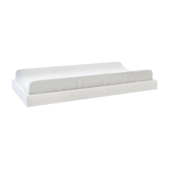 Changing Pad With Tray, White