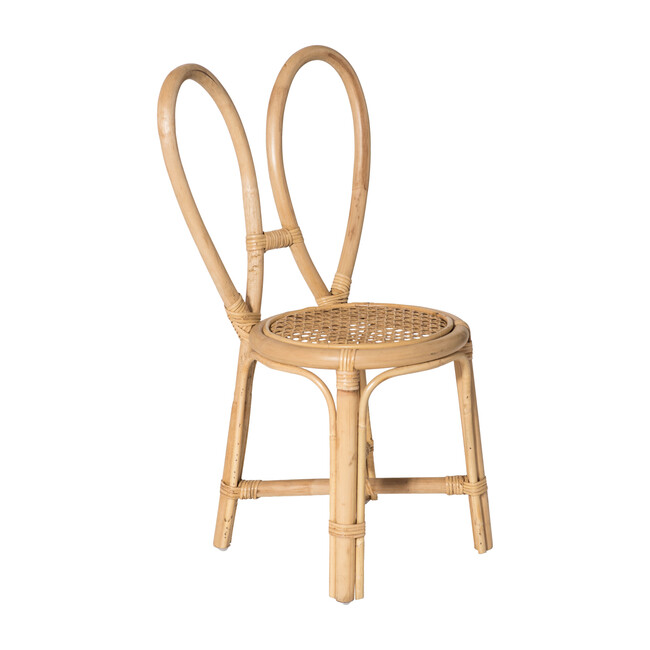 Rattan Bunny Chair, Natural