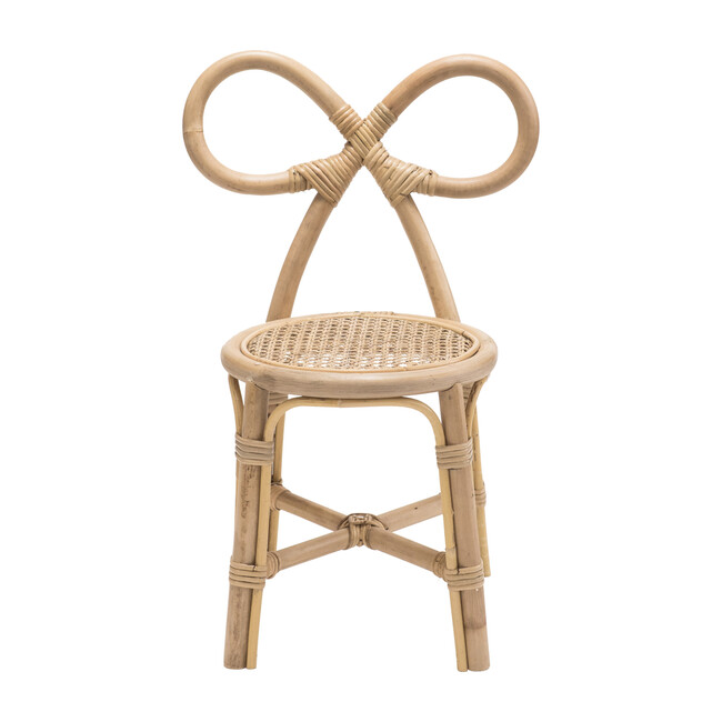 Rattan Bow Chair, Natural