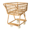Rattan Shopper, Natural - Role Play Toys - 3