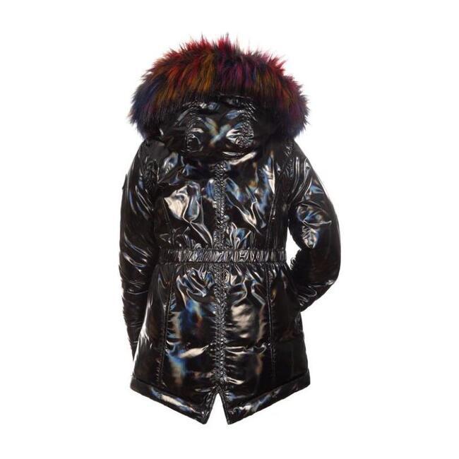 Middie Puffer Coat, Black