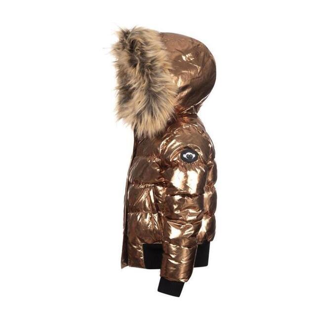Kyle Puffer Coat, Copper