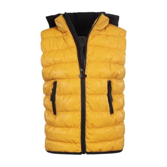 Apex Puffer Vest, Gold
