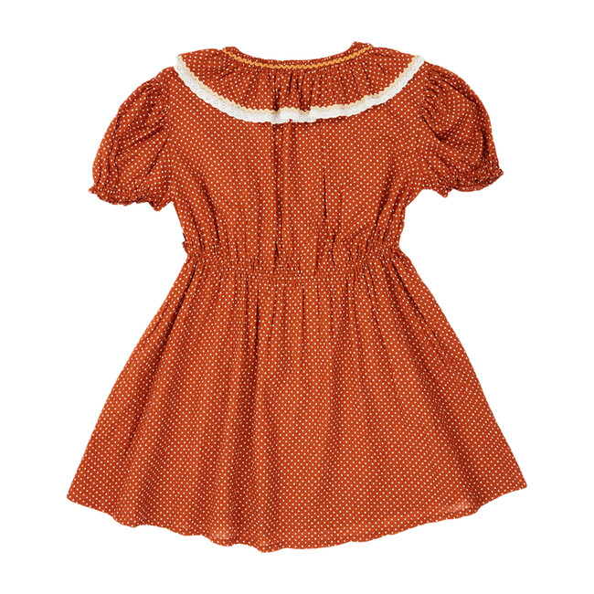 Orca Dress, Rust Dot