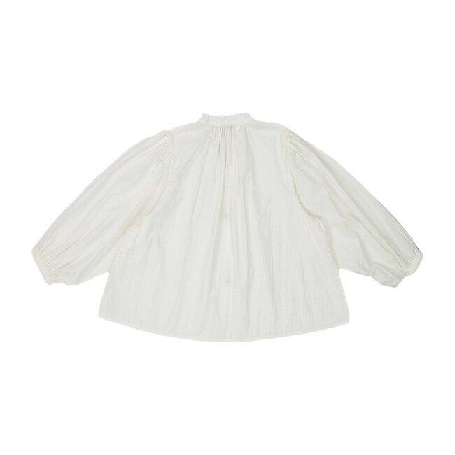 Plankton Blouse, White Cotton