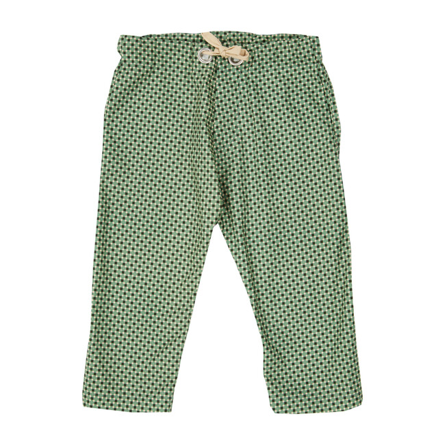 Dolphin Trousers, Geo Print