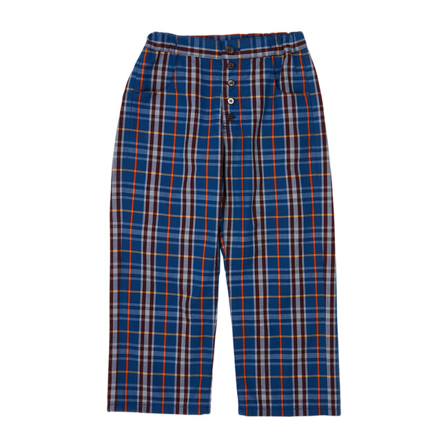 Barnacle Trousers, Blue Check