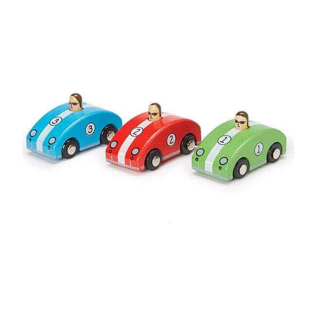 Squeaky Retro Race Cars, Set of 3