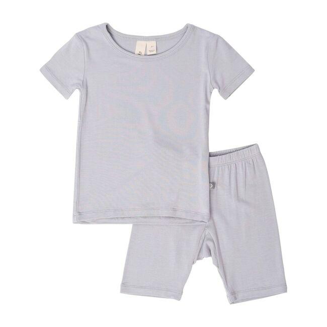 Short Sleeve Toddler Pajama Set, Storm