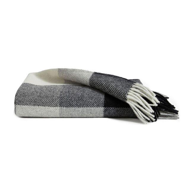 Pendleton Throw Blanket, Black Check