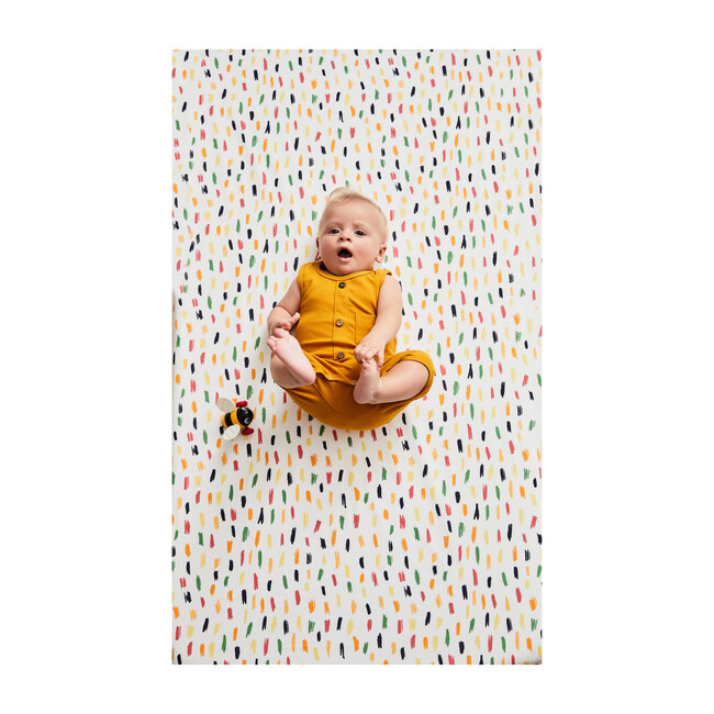 Sprinkles Crib Sheet Set, Multi