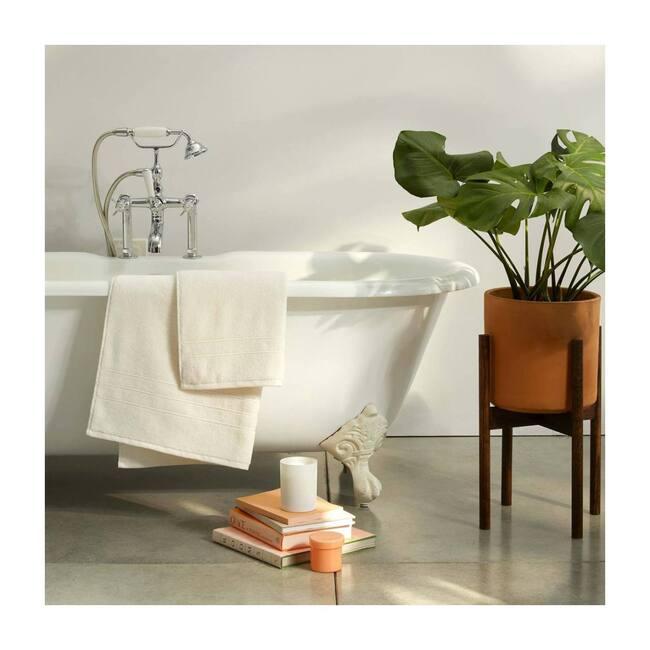 Super-Plush Bath Towels, Cream