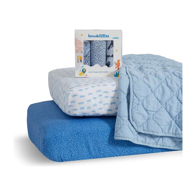 Cool Blue Baby Bundle