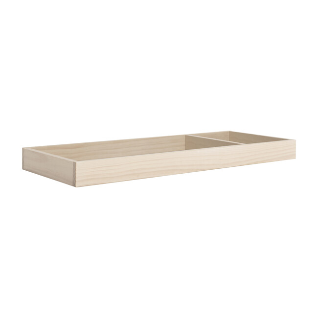 Universal Wide Removable Changing Tray, Washed Natural