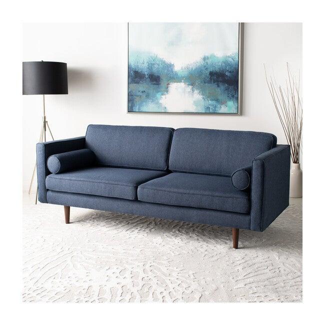 Hurley Mid-Century Sofa, Light Blue