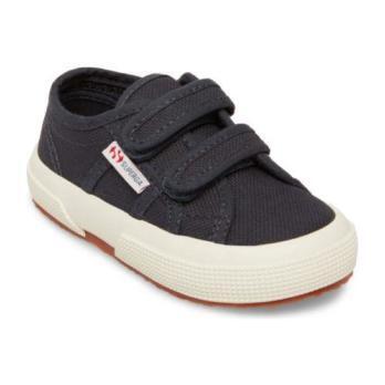 Classic Canvas Velcro, Navy - Sneakers - 1