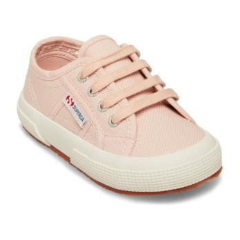 Classic Canvas Lace Up, Pink Crystal - Sneakers - 1