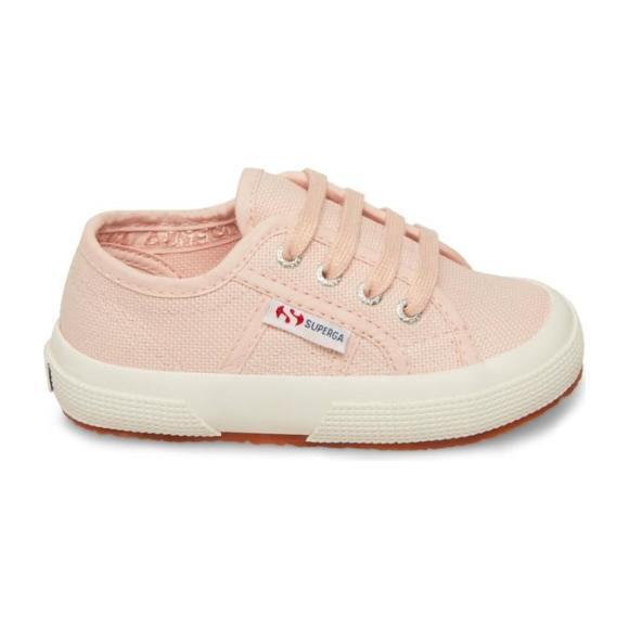 Classic Canvas Lace Up, Pink Crystal
