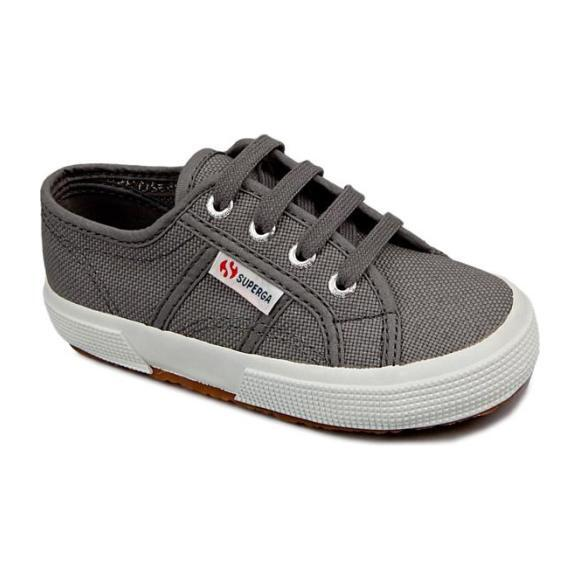 Classic Canvas Lace Up, Grey Sage - Sneakers - 0