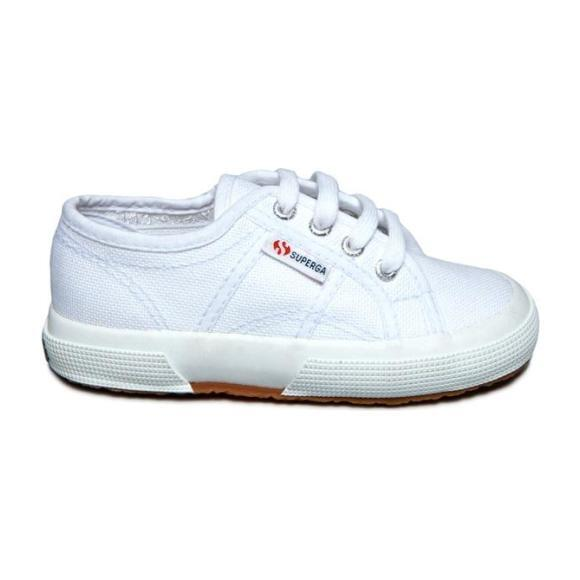 Classic Canvas Lace Up, White