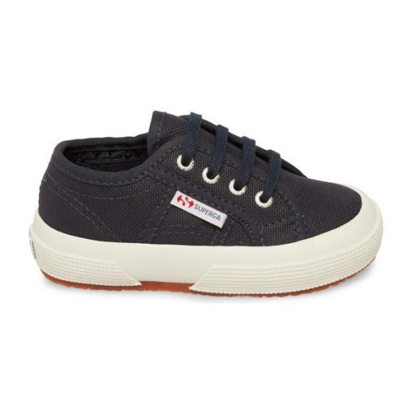 Classic Canvas Lace Up, Navy