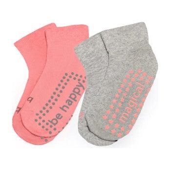 Tinsley 2 Pack Grip Socks, Multi