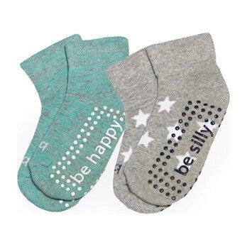 Dakota Toddler 2 Pack Grip Socks, Multi
