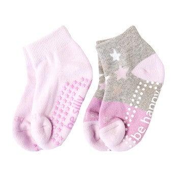 Holly 2 Pack Grip Socks, Multi
