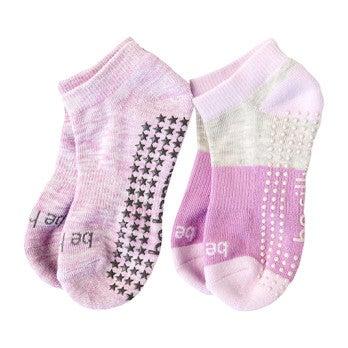 Bree 2 Pack Grip Socks, Multi