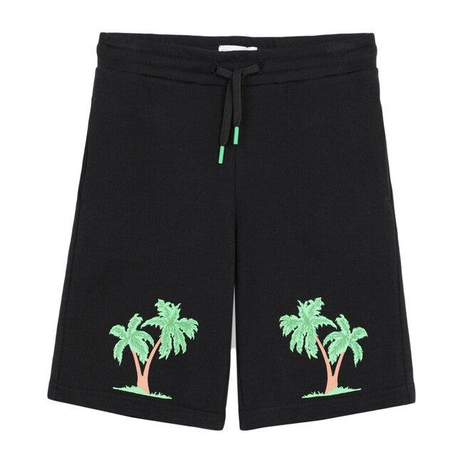 Palm Fleece Short, Black