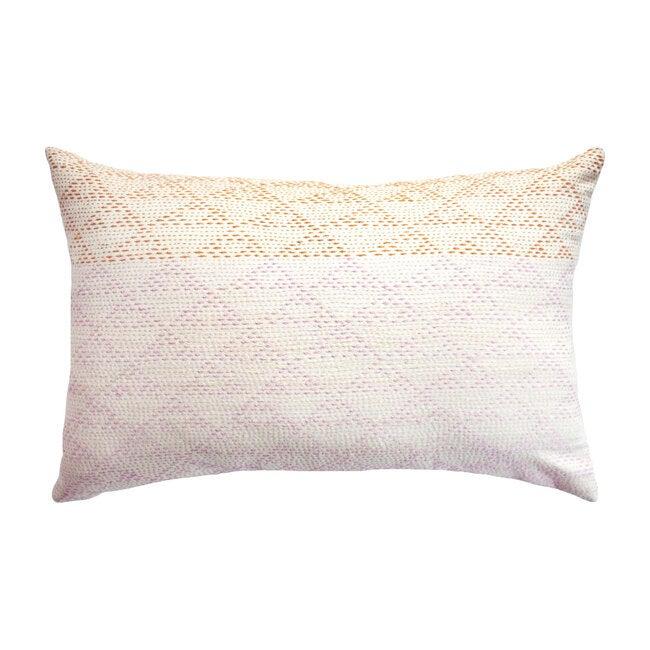 Eva Ivory/Rust Pillow