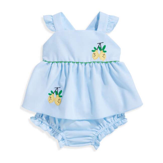 Sibby Bloomer Set, Blue