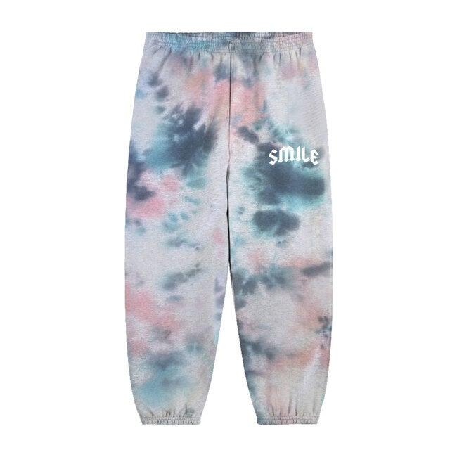 Smile Jogger, Tie Dye Multi Color
