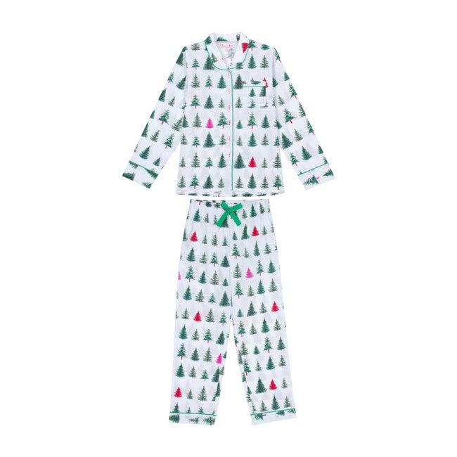Women's Shirt + PJ Pant Set, Christmas Tree
