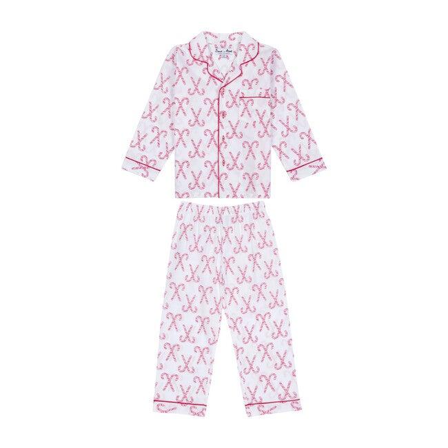Shirt + PJ Pant Set, Candy Cane