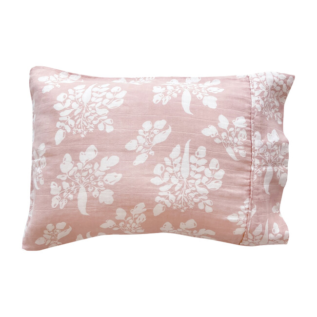 Inverse Parsnip Toddler Pillowcase, Mauve