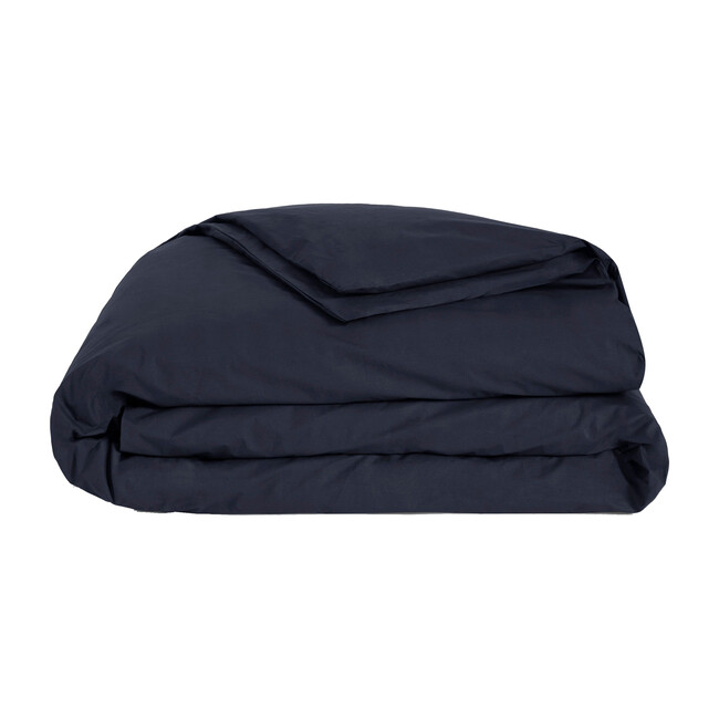 Luxe Duvet Cover, Navy