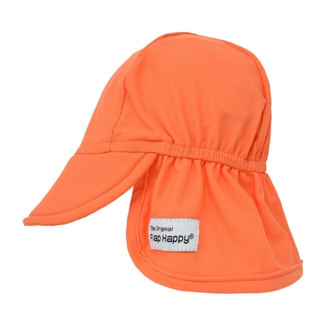 Swim Flap Hat 2 Pack, Ocean & Orange