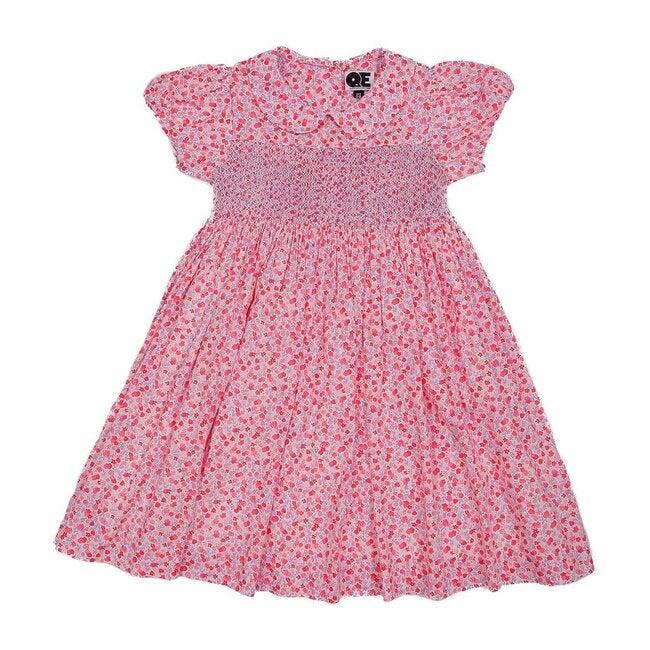 Lucille Dress, Pink Florals - Dresses - 1
