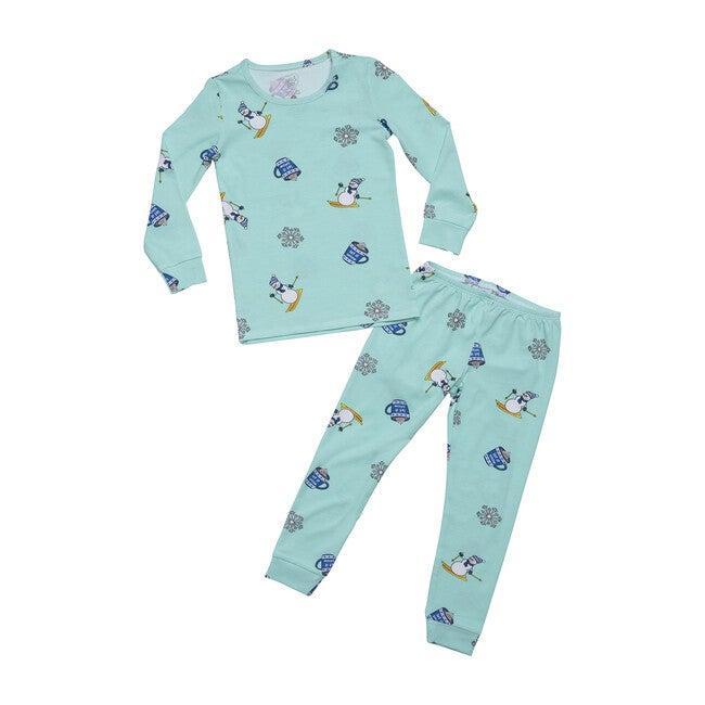 Winter Wonderland Pajamas, Blue Winter