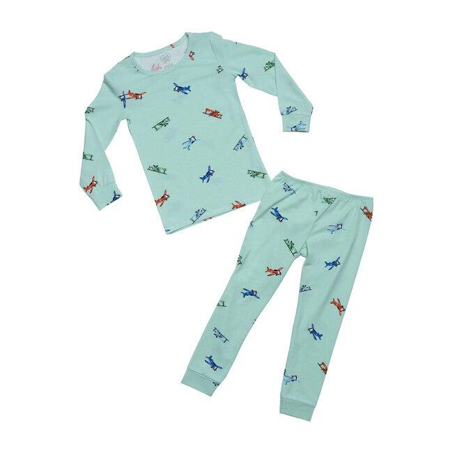 Vintage Airplanes Pajamas, Airplanes - Pajamas - 1