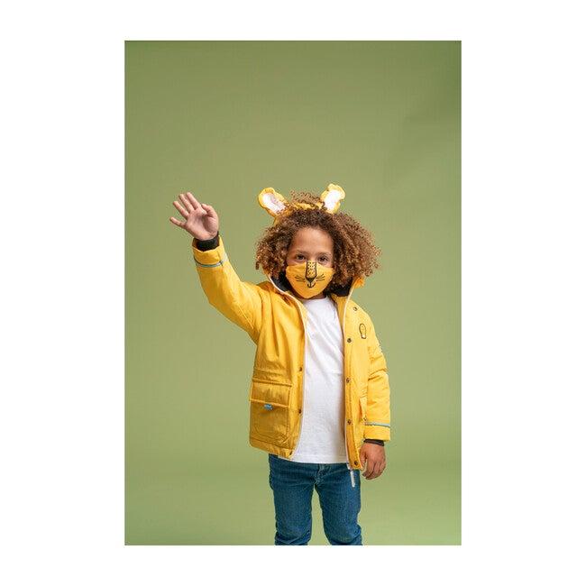 Cub The Lion Coat, Yellow
