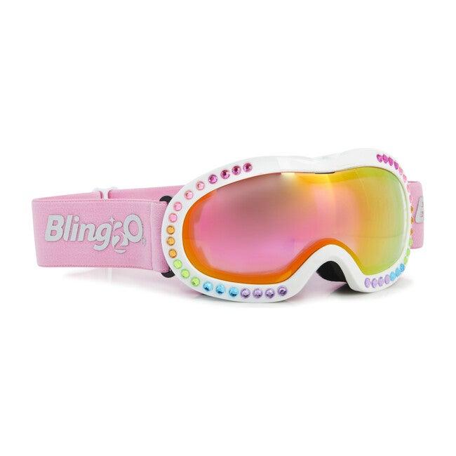 Rainbow Rhinestone Ski Goggle