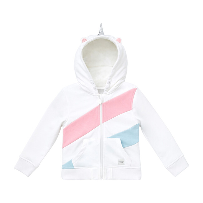 Uki the Unicorn Convertible Zip Up Hoodie