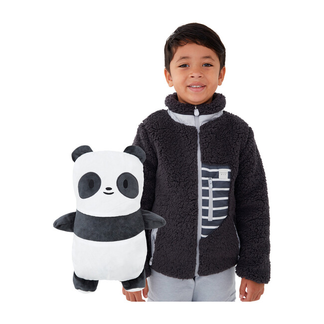 Papo the Panda Convertible Sherpa Jacket