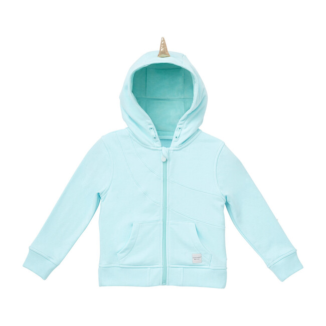 Nell the Narwhal Convertible Zip Up