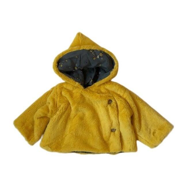 Chaperon Coat, Yellow