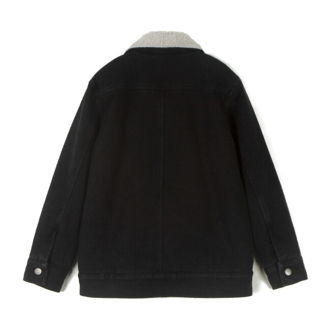 Adão Coat, Denim Black